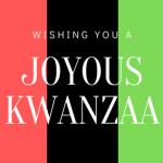 Kwanzaa Begins!