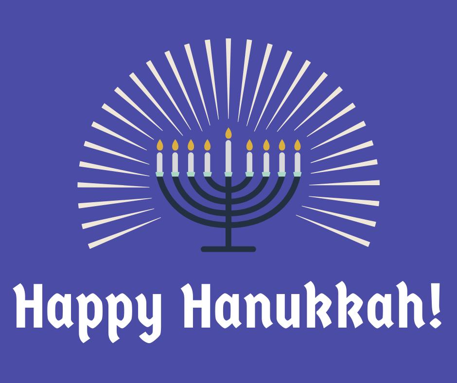 Happy Hanukkah, everyone!