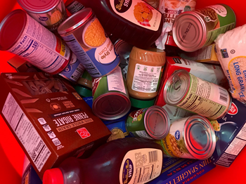 Second Harvest Food Bank Donation